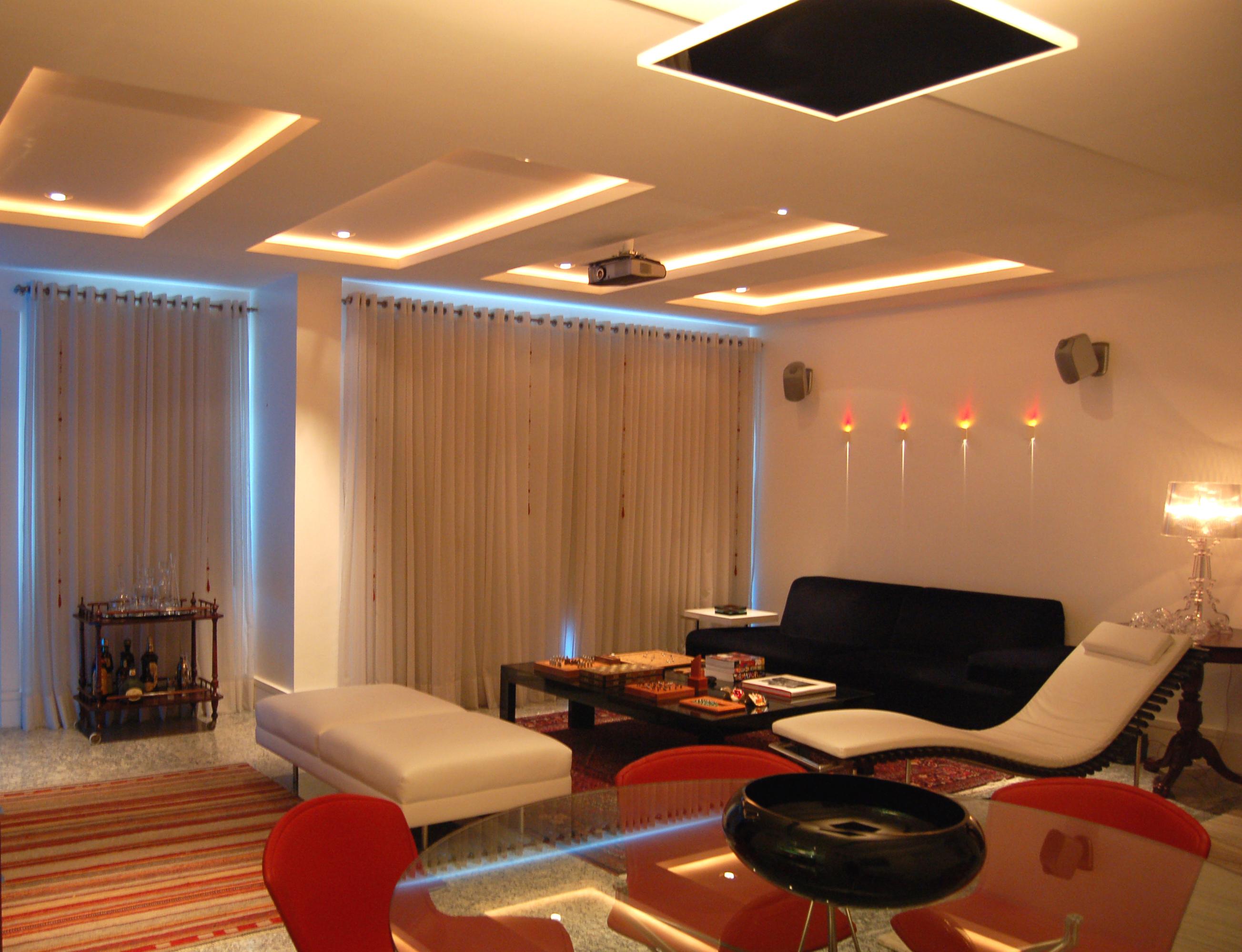 Sala De Estar Home ~ iluminação  Hiluy Porto arquitetura + interiore
